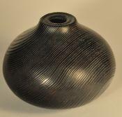 Flame-ebonized Ash