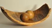 Red Oak vessel with two spheres