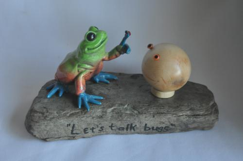 Frog and sphere
